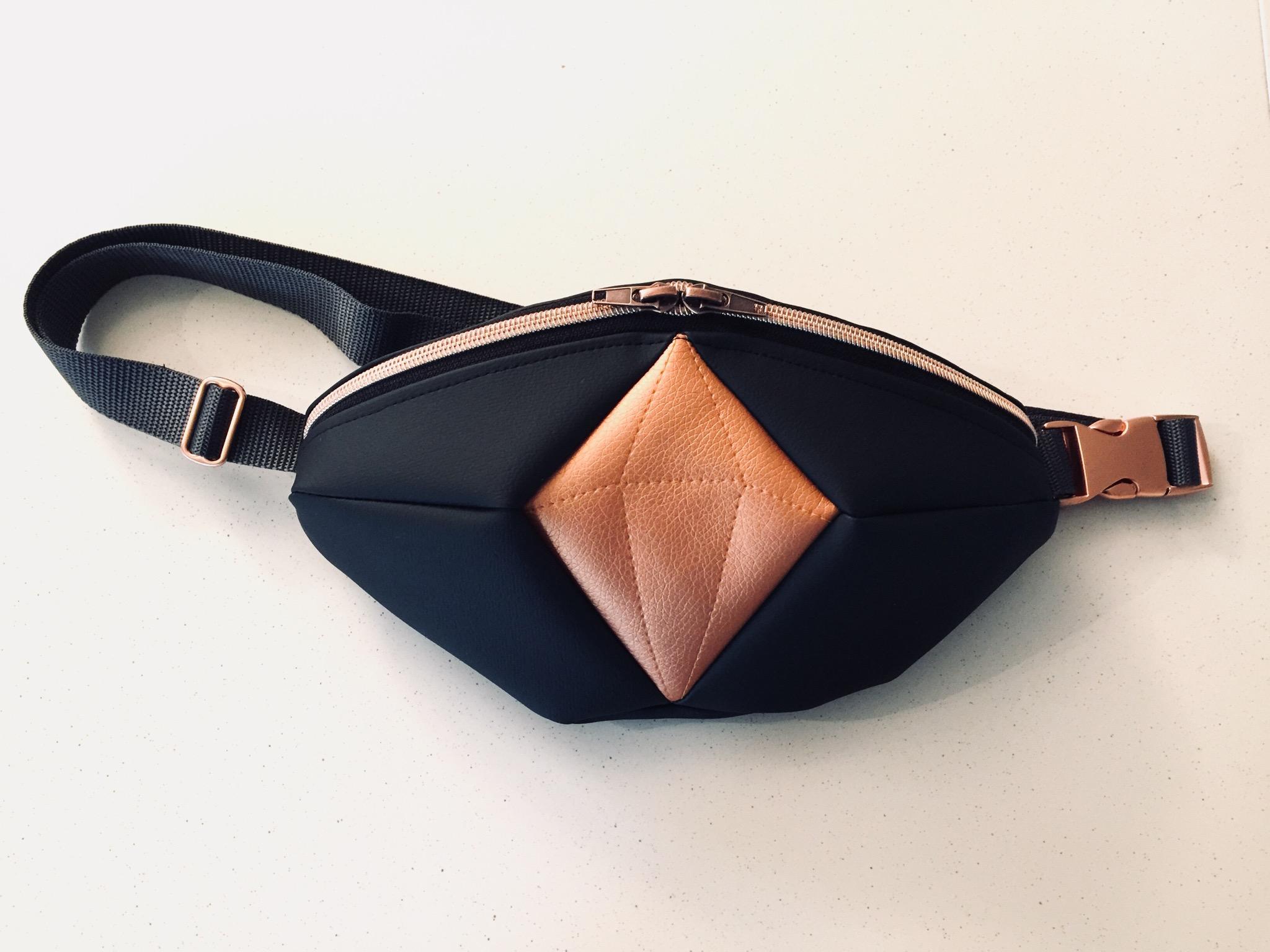 Das Edelwerk Kupfer Kunstleder – TrendBauchtasche Aus ZikXPu